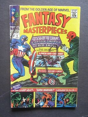 FANTASY MASTERPIECES #6 gd+ KIRBY-c reprints Marvel Silver Age 1 book lot