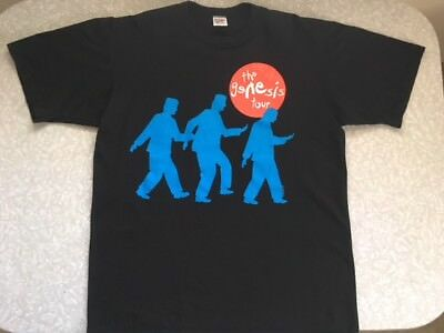 "Vintage/original Genesis ""we Can't Dance"" 1992 U.s. Tour T-Shirt"