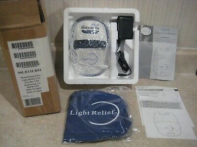 Light Relief Infrared Pain Relief Device LR150 Joint Muscle Pain - New in Box