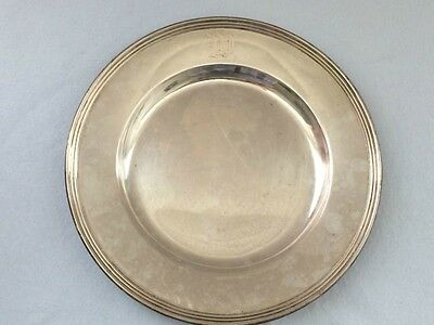 "International Sterling Silver Bread & Butter Plate 6"" H413 Lord Saybrook Pattern"