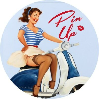 Eagle college vintage pin up girl decals pictures