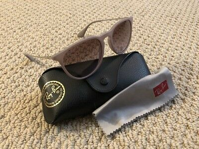 Ray Ban Genuine RB4171 Erika Remix Women's Sunglasses Rubber Sand Brown 6000/68