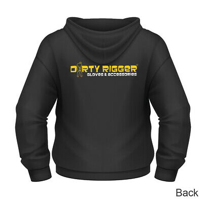 CLEARANCE! Dirty Rigger Zip-Up Hoodie