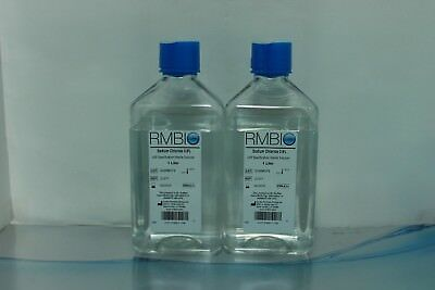 2P-RMBIO WATER FOR Injection USP SPECIFICATION STERILE Sodium Chloride  0.9% 1L