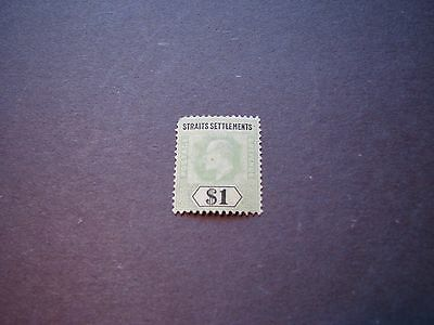 Straits Settlements Scott# 102 King Edward VII 1902 MNG C5