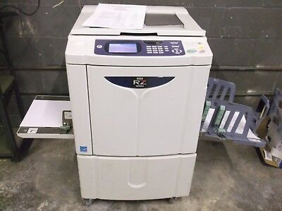 Riso RZ1090 High Speed Digital Duplicator NETWORKED with software & manuals