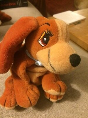 Lady from Lady and the tramp beanie soft toy Disney Official