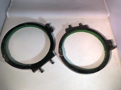 """7"""" Telescope Ring Clamps Lot Of 2"""