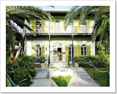 Hemingway House, Key West, Florida, Usa Art Print Home Decor Wall Art