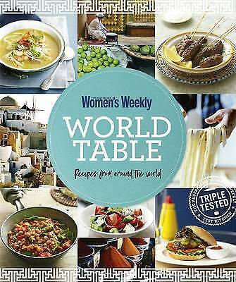 The Australian Women's Weekly, World Table, Reciepes From Around The World (NEW)