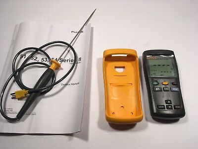 NEW Fluke 51-II contact Thermometer Single Input Digital Thermometer F51-2
