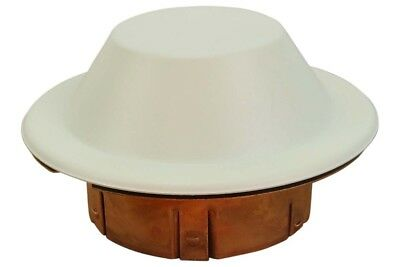 Reliable CCP Domed Off-White Fire Sprinkler Cover Plate