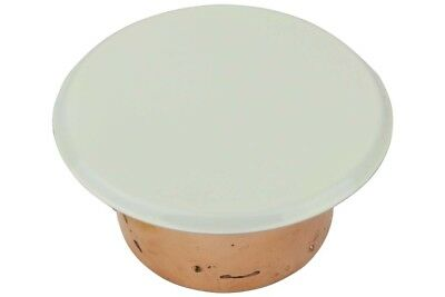 VICTAULIC FLAT SPRINKLER Cover Plate for V33 Fire Sprinklers with White  Finish