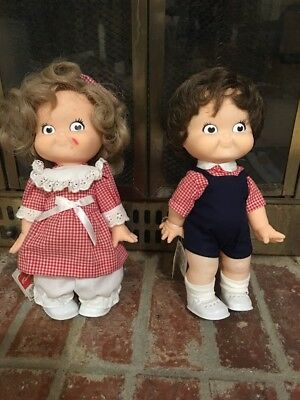 1988 Campbells Kids Special Edition Dolls Boy And Girl