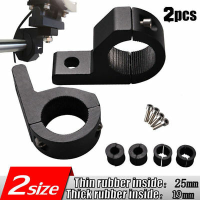LED MOUNT BRACKET FOR ROOF ROLL CAGE LIGHT BAR CLAMPS 19mm-25mm TUBE Tools