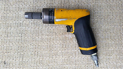ATLAS COPCO LBB37 Air Drill Motor with Boeing Style Quick Chuck, 6000 rpm