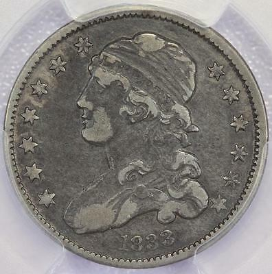 1833 Capped Bust Quarter PCGS VF30 - Nice Type Coin - *DoubleJCoins* - 584A42