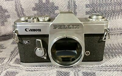Vintage 1965 CANON PELLIX 35mm SLR CAMERA, as is