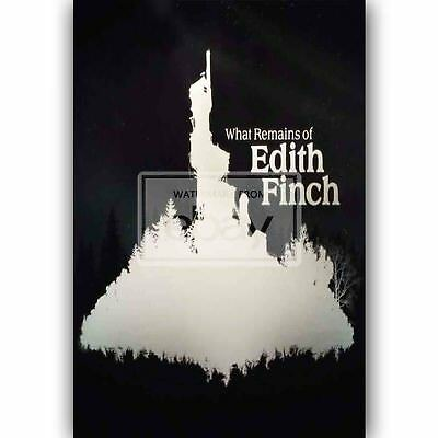What Remains of Edith Finch New Custom Silk Poster Wall Decor 20x13 Inch