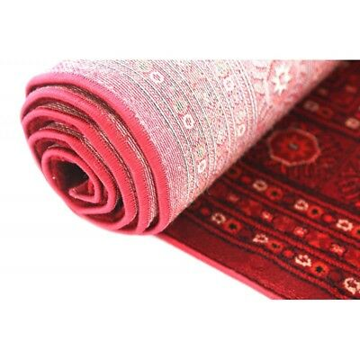 Hallway Runner Hall Runner Rug Traditional Afghan Red 4 Metres Long x 80cm 6889