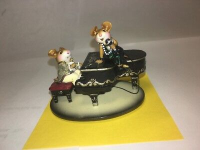 "Wee Forest Folk ""In The Spotlight"" M-334 Black Piano"