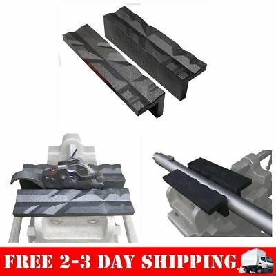 Soft Magnetic Vice Jaws Nylon 4 Inches Gun Smith Parts Wood Jewelry Tool Gears .