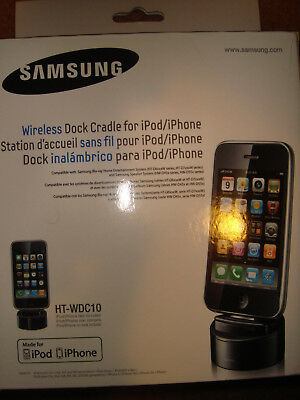 Samsung HT-WDC10/XAA Wireless iPod/iPhone Dock and Cradle- BRAND NEW IN BOX!!!