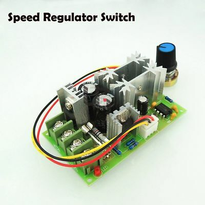 DC10-60V  20A Regulator Variable Potentiometer Switch Motor Speed Controller TOP