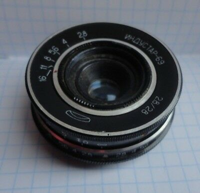INDUSTAR-69 2,8/28 USSR wide-angle lens М39