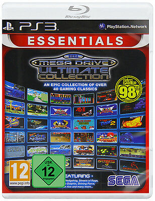 PS3 Sega Mega Drive Ultimate Collection 40 Classic Games NIP Playstation 3