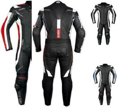 A-PRO leather Suit CE Armored Cowhide Mororcycle Motorbike Quality All Sizes