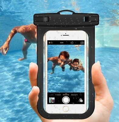 Underwater Waterproof Case Dry Bag Pouch Mobile Phone iPhone X 7 Samsung Huawei