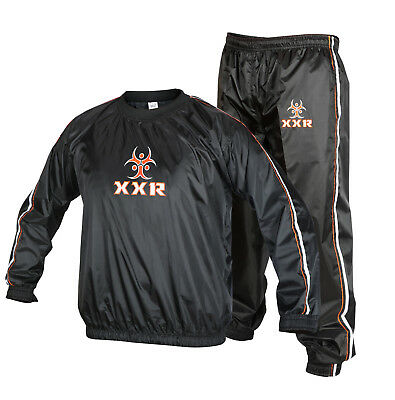 X1 Heavy Duty Sweat Suit Sauna Exercise Gym Suit Fitness Weight Loss Anti-Rip