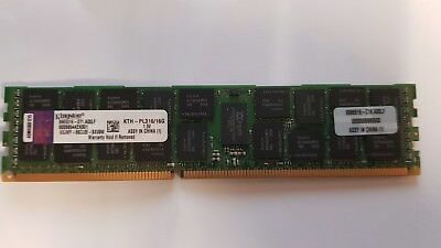 256GB DDR3 (16 x 16GB). Kingston KTH-PL316/16G ECC Server Memory