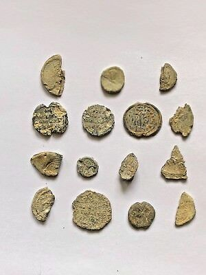 Lot Of 15 Byzantine Lead Seals