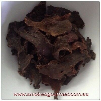 Smoked Gourmet All Natural Premium Beef Jerky 1kg 1000g NITRATE & GLUTEN FREE