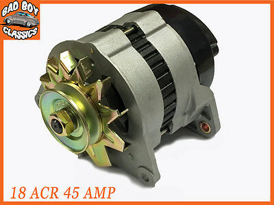 18 ACR 45 Amp Complete Alternator With Pulley & Fan JCB 3D LOADER 1971>