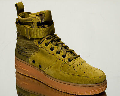 NIKE SF AIR Force 1 Mid AF1 men lifestyle sneakers NEW