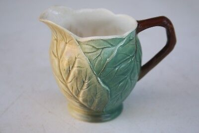 Quaint Vintage Royal Winton China Milk Jug Made in England Leaf Style