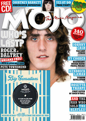 Mojo Magazine + Cd (May 2018) The Who, Courtney Barnett, Johnny Cash, Yes...new