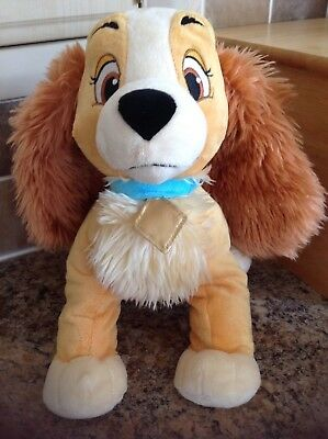 Disney Store Lady And The Tramp Plush Soft Toy