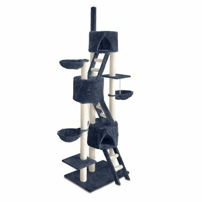 iPet Cat Large Scratching Post Tree Scratcher Pole Furniture Gym Condo House Toy
