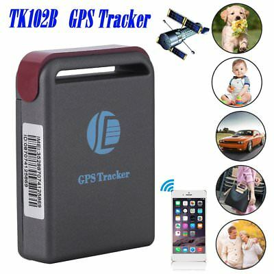 GPS TRACKER Vehicle Tracking GSM GPRS Car Realtime Mini Device System Pet TK102B