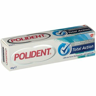 Polident Total Action Crème Fixative tube 40g