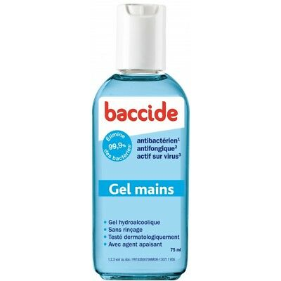 Baccide Gel Mains sans Rinçage flacon 75ml