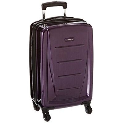 Samsonite Luggage Winfield 2 Fashion HS Spinner 20 (Purple) New and Top Rated!!!