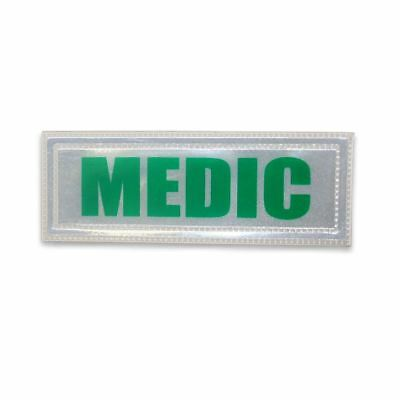 Small Green Reflective Medic Badge Small, Green