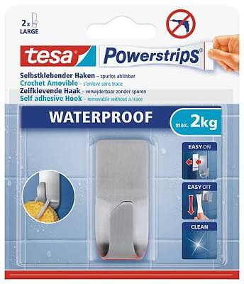 tesa Powerstrips® 59707 Waterproof Haken Zoom Metall