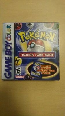 Pokemon Trading Card Game GBC Box and Manual GBC - NO GAME