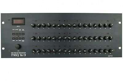 DOEPFER MAQ 16/3 Analog Midi CV/Gate Sync Step Sequencer Sequenzer + Garantie
